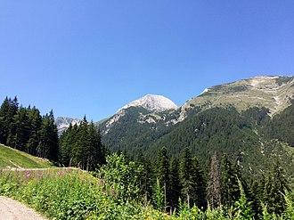 Pirin - A view to Vihren, Pirin's highest summit