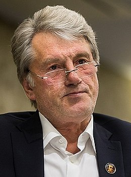 Viktor Yushchenko by Tasnimnews 01 (cropped).jpg