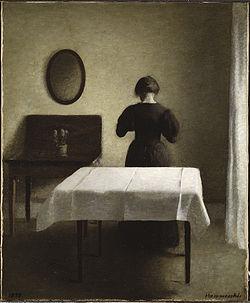 HAMMERSHØI Vilhelm Interior 1898