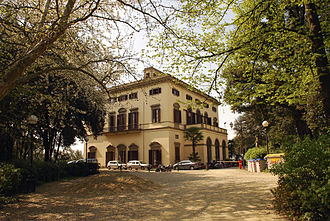 Tempo Reale - Image: Villa Strozzi South West Facade Overview