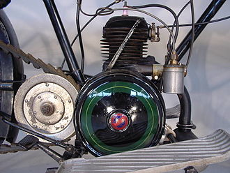 Villiers Engineering - 1926 Villiers 300cc engine