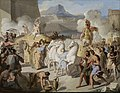 Vincenzo Camuccini - A Roman Triumphal Entry, Possibly of Marcus Claudius Marcellus, 1816.jpg