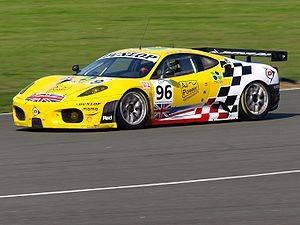 2008 Le Mans Series - Rob Bell won the GT2 title for Virgo Motorsport.