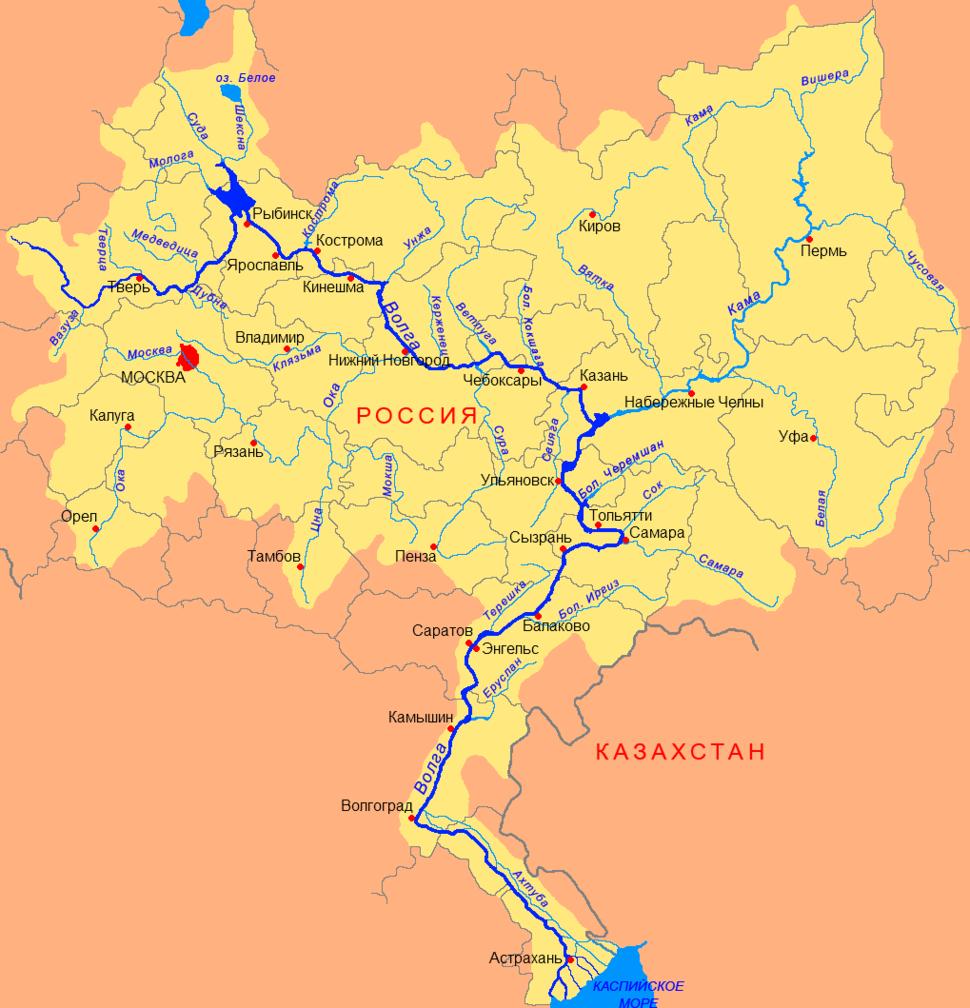 Volga basin