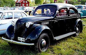 Volvo PV56 4-Door Sedan 1939