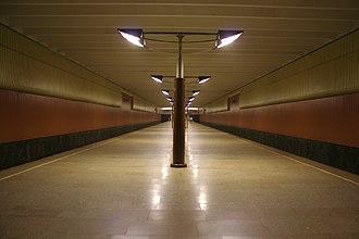 Volzhskaya (Moscow Metro) - Image: Volzhskaya mm
