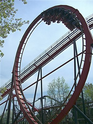 Bolliger & Mabillard - Vortex at Carowinds, a Stand-up Coaster model