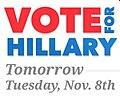 Vote for Hillary tomorrow 14939337.jpg
