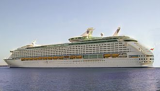 Voyager-class cruise ship - Image: Voyager of the seas 1