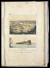 Inscription du rocher dos arvoredos : (des Buissons)