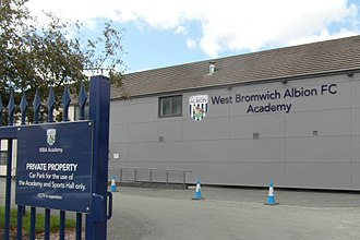 West Bromwich Albion F.C. Reserves and Academy - West Bromwich Albion F.C. Academy building