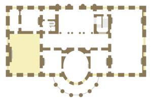Salle manger d 39 tat maison blanche wikip dia - Plan de maison coloniale ...
