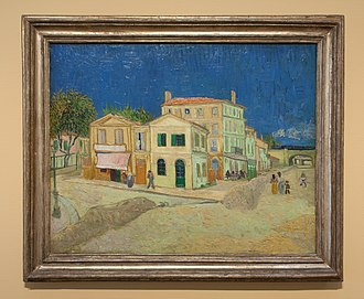 1888 in art - van Gogh - The Yellow House