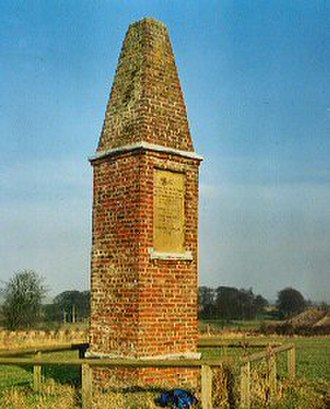 Wold Newton, East Riding of Yorkshire - The Wold Newton meteorite monument