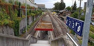 railway station in Switzerland