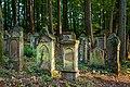 Waibstadt - Jüdischer Friedhof - mittlerer Teil - Ansicht vom Hauptweg 2.jpg