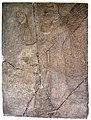 Wall panel. Apkallu holding a mace. From Nimrud, Iraq. 9th century BCE. Pergamon Museum.jpg