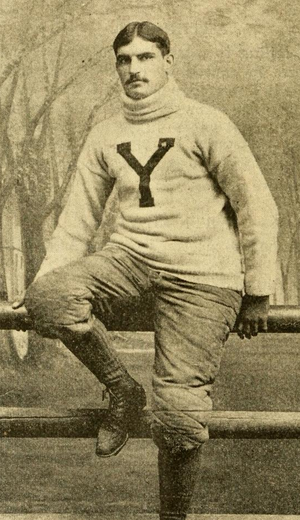 Wallace Winter - Winter pictured in The Official National Collegiate Athletic Association football guide, 1893