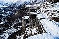 Walls of Armenian fortress Bjni - panoramio (2).jpg