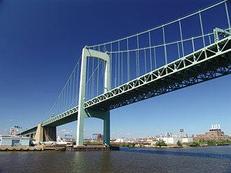 Gloucester City, New Jersey - Walt Whitman Bridge