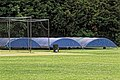 Wanstead & Snaresbrook CC cricket covers, Wanstead, London 01.jpg