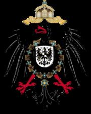 Reichsadler der wilhelminischen Epoche