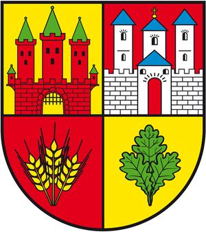 Möckern - Image: Wappen Einheitsgemeinde Moeckern