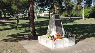 Taroom - War memorial, Taroom, 2014