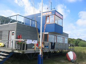 DLRG - A rescue station of the DLRG