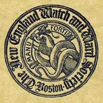 Watch and Ward Society - Image: Watch And Ward Society Logo