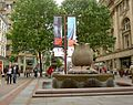 Water feature in St. Anne's Square Manchester - geograph.org.uk - 1400026.jpg