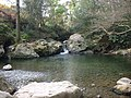 Waterfall and pool on Cornaa River - geograph.org.uk - 456948.jpg
