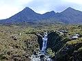 Waterfall on the Allt Dearg Beag - geograph.org.uk - 606663.jpg