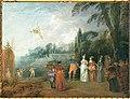 Watteau - D'après Embarquement pour l'île de Cythère.jpg