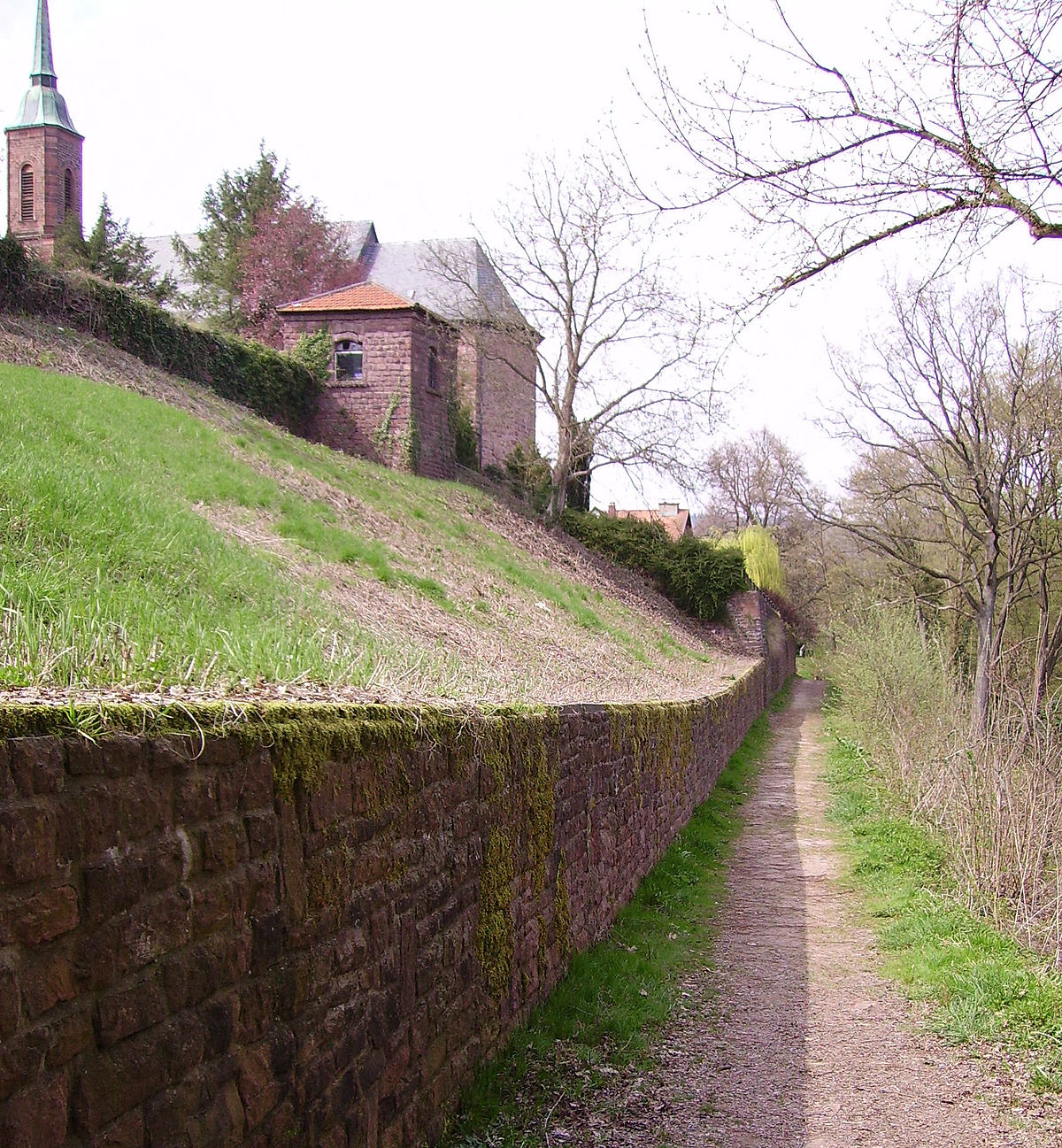 muro de contencin wikipedia la enciclopedia libre - Muros De Contencion