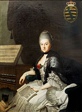 Duchess Anna Amalia, noted patron of the arts, who invited Seyler and his company to her court in 1771 (Source: Wikimedia)