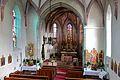 Weyregg - Kirche, Innenansicht Richtung Chor.JPG