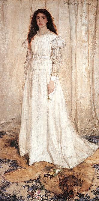 Joanna Hiffernan - Image: Whistler.white.393pi x