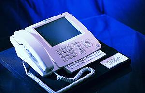 Linksys iPhone - Image: White i Phone 1