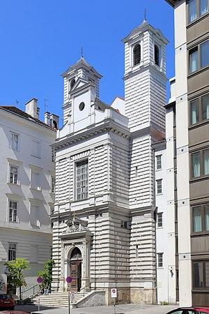 Armenians in Austria - Mechitaristenkirche: Mechitarist Armenian Catholic Church in Vienna, Austria