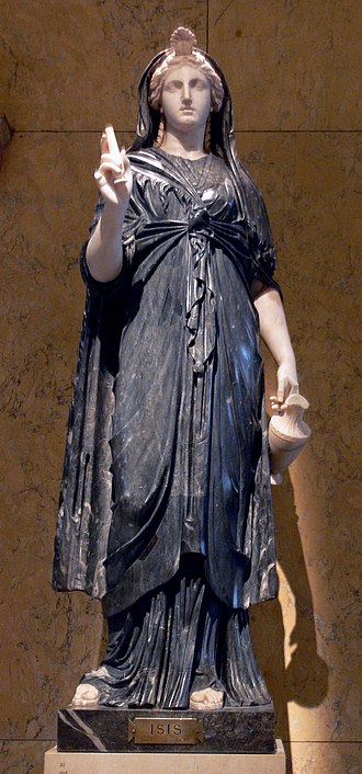 Mysteries of Isis - Roman statue of Isis, 2nd century CE