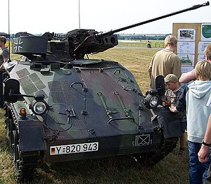 Wiesel AWC - Wiesel 1A1 MK with 20 mm autocannon
