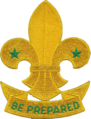 WikiProject Scouting fleur-de-lis scroll.png