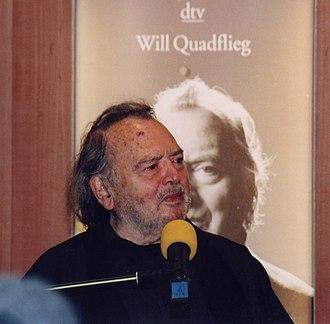 Will Quadflieg - Will Quadflieg in 1998.