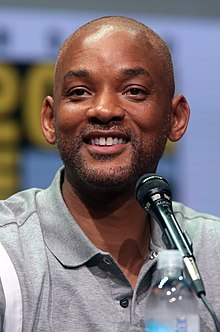Actor Will Smith at the 2017 San Diego Comic-Con International.