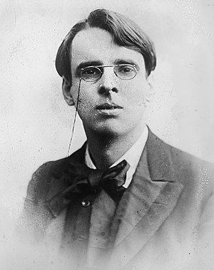 William Butler Yeats (1865 - 1939), Irish poet...