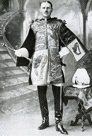 Delhi Herald Extraordinary - William Peyton serving as Delhi Herald Extraordinary in 1911.