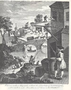 "English: William Hogarth - ""The importanc..."