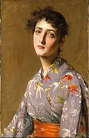 William Merritt Chase - Girl in a Japanese Costume - Google Art Project.jpg