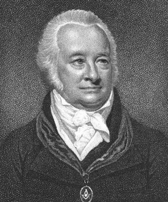 William Preston (Freemason) - William Preston, from the 1812 edition of Illustrations of Masonry